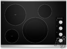 "KitchenAid 30"" Smoothtop Electric Cooktop KECC604B"
