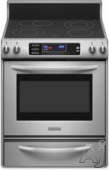 "KitchenAid Architect II 30"" Freestanding Electric Range KERS807S"