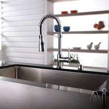 Kraus Kitchen Combo Sink & Faucet Combination KHF20036KPF1612KSD30CH