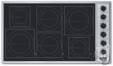 "Viking 36"" Smoothtop Electric Cooktop VICU2666B"