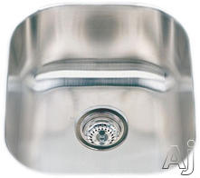 Houzer Single Bowl Kitchen/Bar Sink MS17081