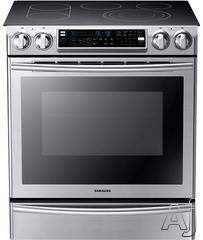 "Samsung 30"" Slide-In Electric Range NE58F9710WS"