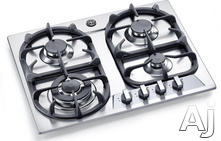 "Bertazzoni 24"" Sealed Burner Gas Cooktop P24400X"