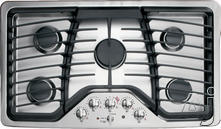 "GE 36"" Sealed Burner Gas Cooktop PGP976DET"