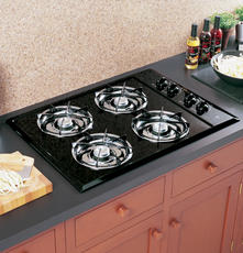 "GE 30"" Open Burner Gas Cooktop JGP321"
