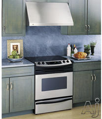 Cavaliere 30 Inch Stainless Steel Range Hood wall mount glass canopy