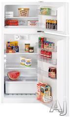 GE Freestanding Top Freezer Refrigerator GTR11AAPRWW
