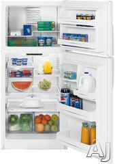 GE Freestanding Top Freezer Refrigerator GTH18JBRWW