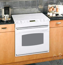 "GE Profile 30"" Drop-In Electric Range JD968TKWW"