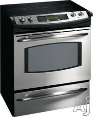 "GE 30"" Slide-In Electric Range JS905"