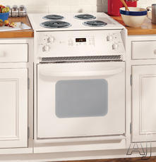"GE Profile Spacemaker 27"" Drop-In Electric Range JMP31CLCC"