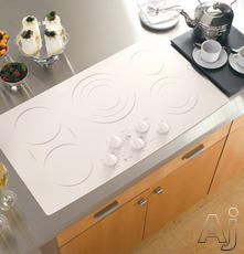 "GE 36"" Smoothtop Electric Cooktop PP962KMCC"