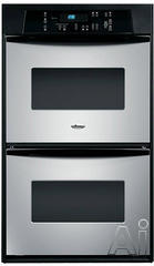 "Whirlpool 24"" Double Electric Wall Oven RBD245PR"