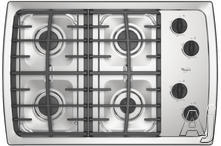 """Whirlpool 30"""" Gas Cooktop SCS3017R"""