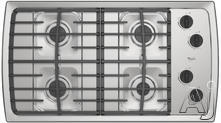 "Whirlpool 36"" Sealed Burner Gas Cooktop SCS3617R"