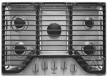 "Whirlpool 30"" Sealed Burner Gas Cooktop WCG97US0DS"