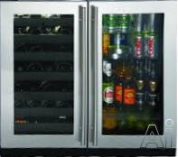 "U Line 3000 35"" Built In Beverage Center U3036BVWC"
