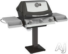 Napoleon Post Mount Natural Gas Barbecue Grill UH405N3