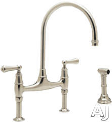 Rohl Kitchen Cast Spout Faucet U4719L2