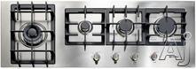 """Verona Designer 45"""" Gas Cooktop VECTGM424SS"""
