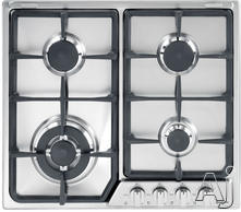 "Verona 21"" Sealed Burner Gas Cooktop VEGCT424FSS"