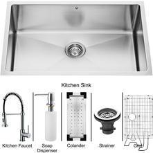 Vigo Industries Platinum Undermount Sink VG15055