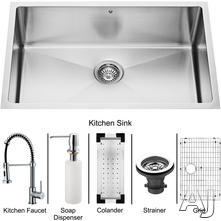 Vigo Industries Single Bowl Kitchen Sink VG15055