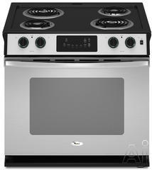 "Whirlpool 30"" Drop-In Electric Range WDE150LV"