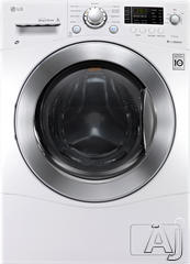 LG Front Load Washer Dryer Combo WM3477HW