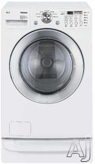 "LG 27"" Electric Front Load Washer Dryer Combo WM3677HW"