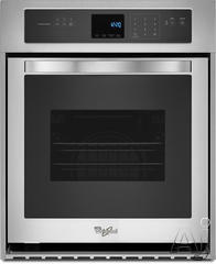 """Whirlpool 24"""" 24"""" Single Electric Wall Oven WOS51ES4E"""