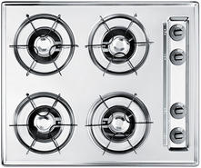 "Summit 24"" Open Burner Gas Cooktop TL03P"