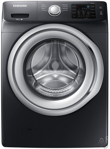Samsung WF45N5300A 27 Inch Front Load Washer with VRT Plus™ Technology, Smart Care, Self Clean+, 1300 RPM, Diamond Drum Design, 8 Preset Wash Cycles, 9 Wash Options, Dispenser Tray, 4.5 cu. ft. Capacity and ENERGY STAR® WF45N5300A