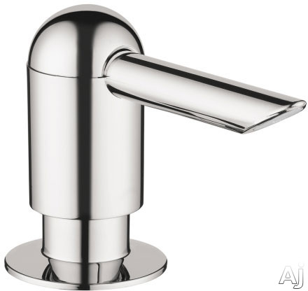 Hansgrohe 04537 Transitional Soap Dispenser with 16 oz Bottle Capacity