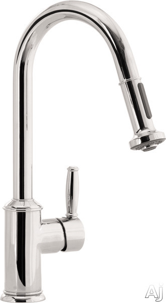Hansgrohe Swing C Series 06128860 Single Lever Handle Kitchen Pull-Out Faucet with 2 Spray Modes, U.S. & Canada 6128860