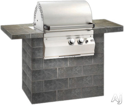 "Fire Magic Legacy 11S1S1PA 24"""" Built-in Deluxe Gas Grill with 368 sq. in. Cooking Area, 42, 000 Total BTU, Stainless Steel Burners and Independently Controlled C"