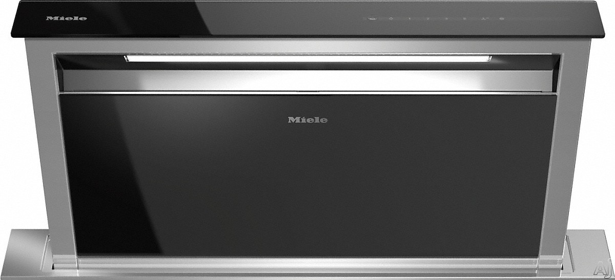 Miele DA6891 36 Inch Downdraft Hood with Active AirClean, Backlit Controls, Safety Shut-Off, Dishwasher-Safe Filters and 3 Speeds DA6891
