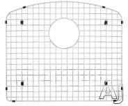Blanco Diamond 221000 Stainless Steel Sink Grid Fits Diamond Single Bowl