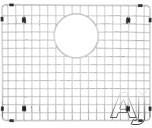 Blanco Precis 221014 Stainless Steel Sink Grid Fits Precis 440142