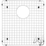 Blanco Precision 221015 Stainless Steel Sink Grid Fits Precision and Precision 10 Large Bowl