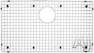 Blanco Precision 221018 Stainless Steel Sink Grid Fits Precision and Precision 10 Super Single Bowl