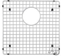 Blanco Precision 223190 Stainless Steel Sink Grid Fits Precision and Precision 10 1 3 4 Bowl Left Bowl