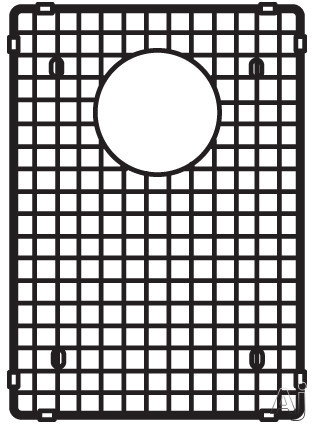 Blanco Precision 224403 Stainless Steel Grid Fits Precision 16 Inch Undermount Sinks