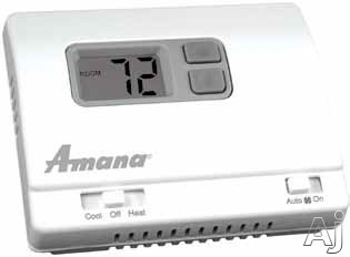Amana 2246002 Non-programmable Thermostat With 1-stage Heat / 1-stage Cool Or Heat Pump