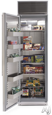 "Northland 30AFSSL 30"" Built-in Upright Freezer with 19.8 cu. ft. Capacity, Stainless Steel Shelves, U.S. & Canada 30AFSSL"