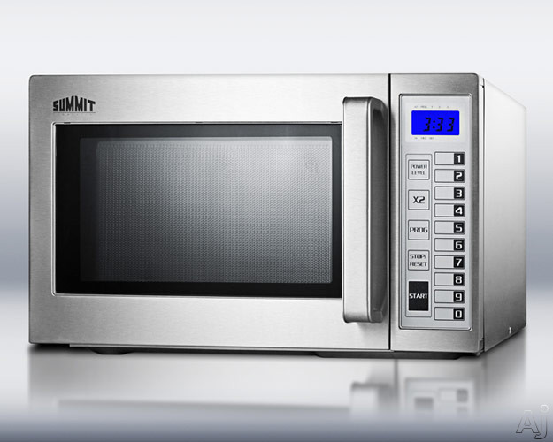 Countertop Microwave Ovens With Stainless Steel Interior : ... Power Levels, Digital Keypad and Stainless Steel Interior/Exterior