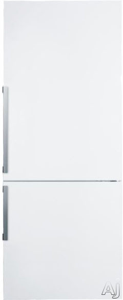 Summit FFBF281W 28 Inch Bottom Freezer Refrigerator with 3 Adjustable Glass Shelves, Produce Drawer, Adjustable Door Bins, 3 Freezer Drawer, Digital Thermostat, LED Lighting and ENERGY STAR Certification