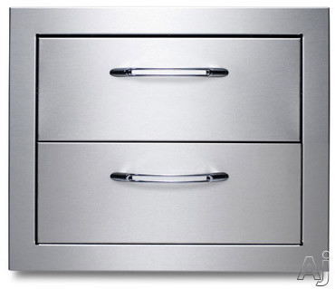 "Capital Precision Series CCE2DRWSS 2 Drawer Stainless Steel System at 18-3 / 4""W x 15-3 / 4""H, U.S. & Canada CCE2DRWSS"