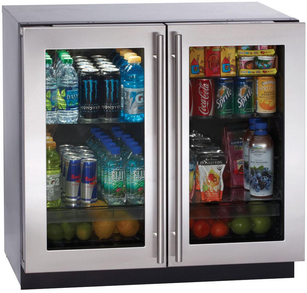"U Line Modular 3000 Series 3036RRGLS13 36"" Undercounter All-Refrigerator with 7.1 cu. ft. Capacity, U.S. & Canada 3036RRGLS13"