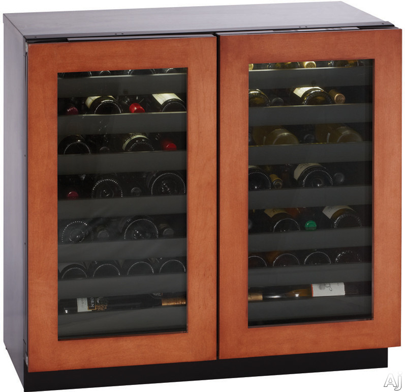 "U Line Modular 3000 Series 3036WCWCOL00 36"" Built-in Wine Storage with 62 Bottle Capacity, Dual Zone, U.S. & Canada 3036WCWCOL00"